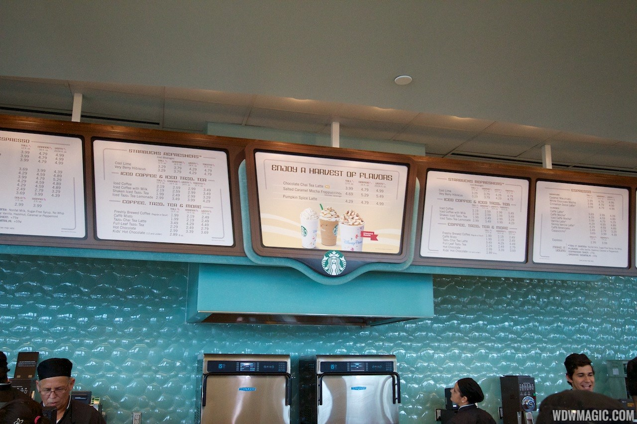 Fountain View Starbucks interior
