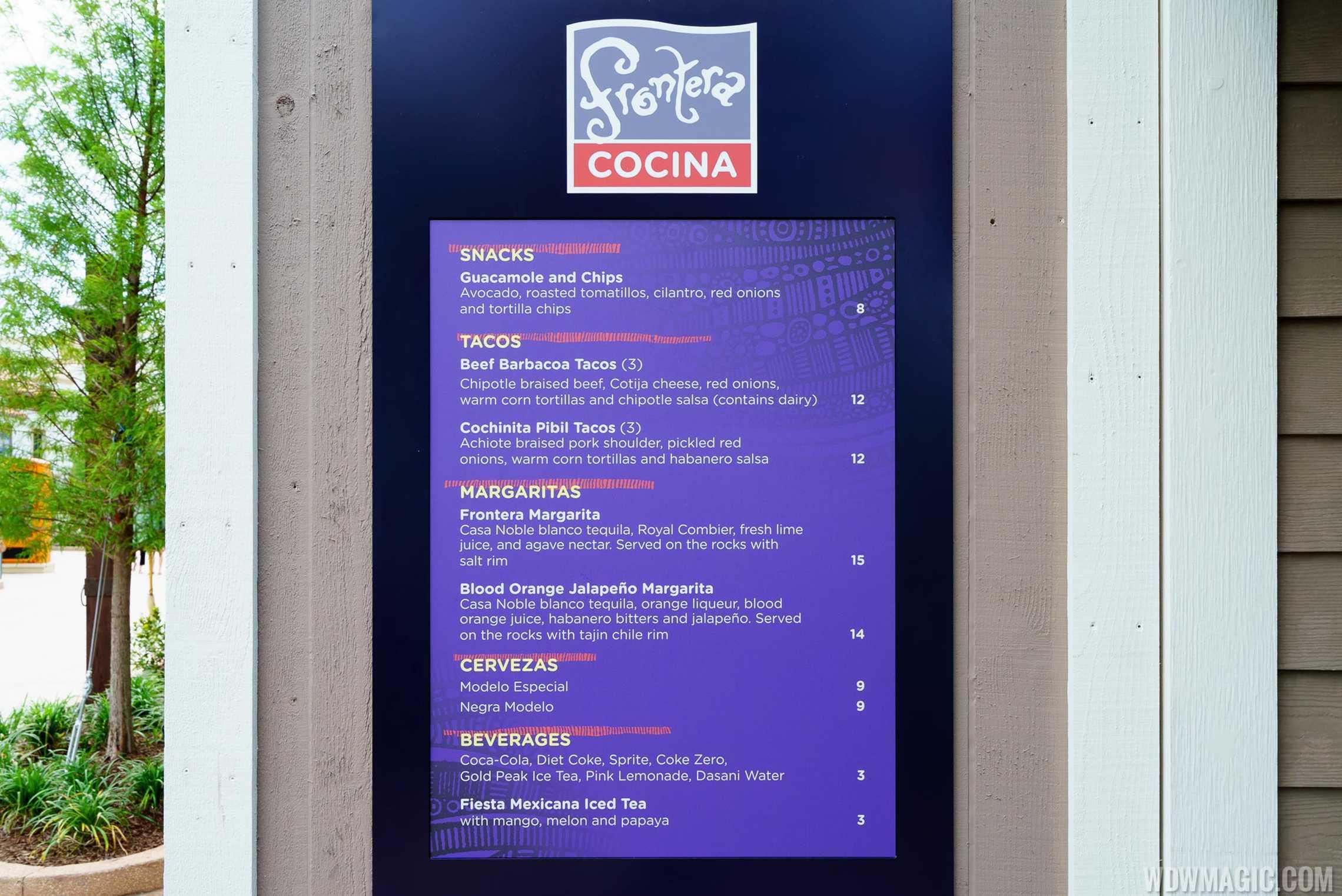 Frontera Cocina - To Go Quick Service window