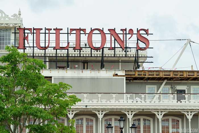 Fulton's Crab House refurbishment