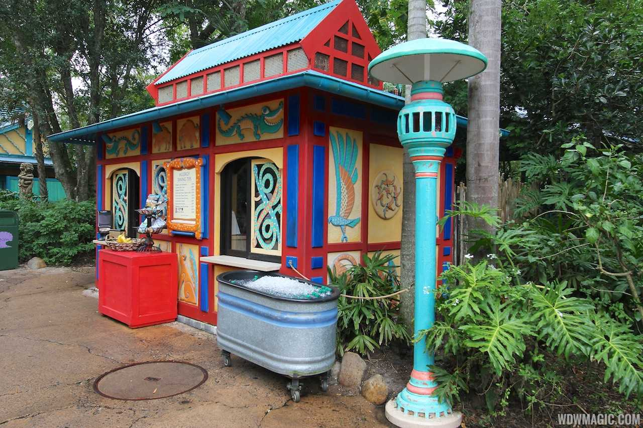 The Gardens Kiosk at Disney's Animal Kingdom