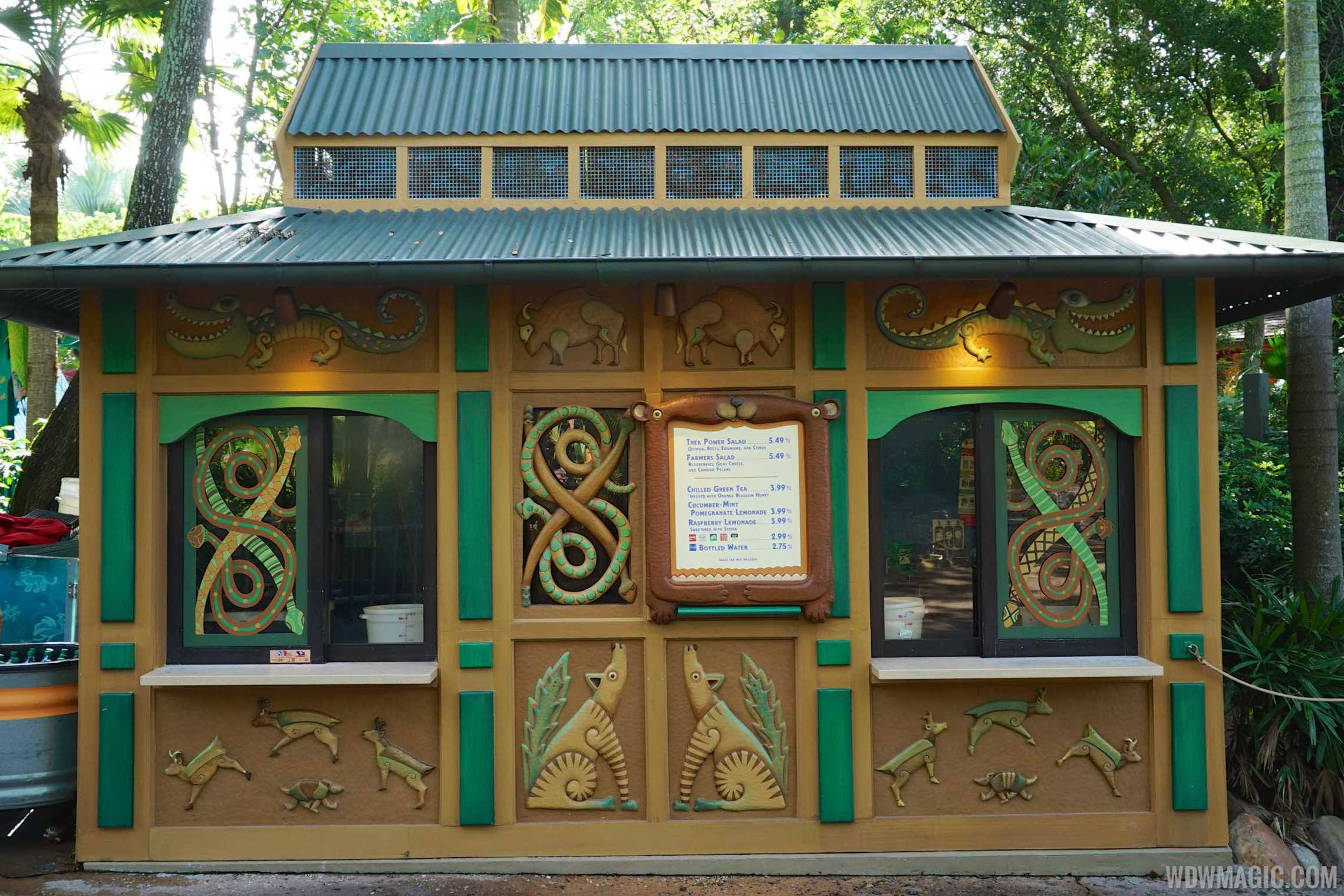 Gardens kiosk at disney 39 s animal kingdom has a new look for Progressive farmer house plans