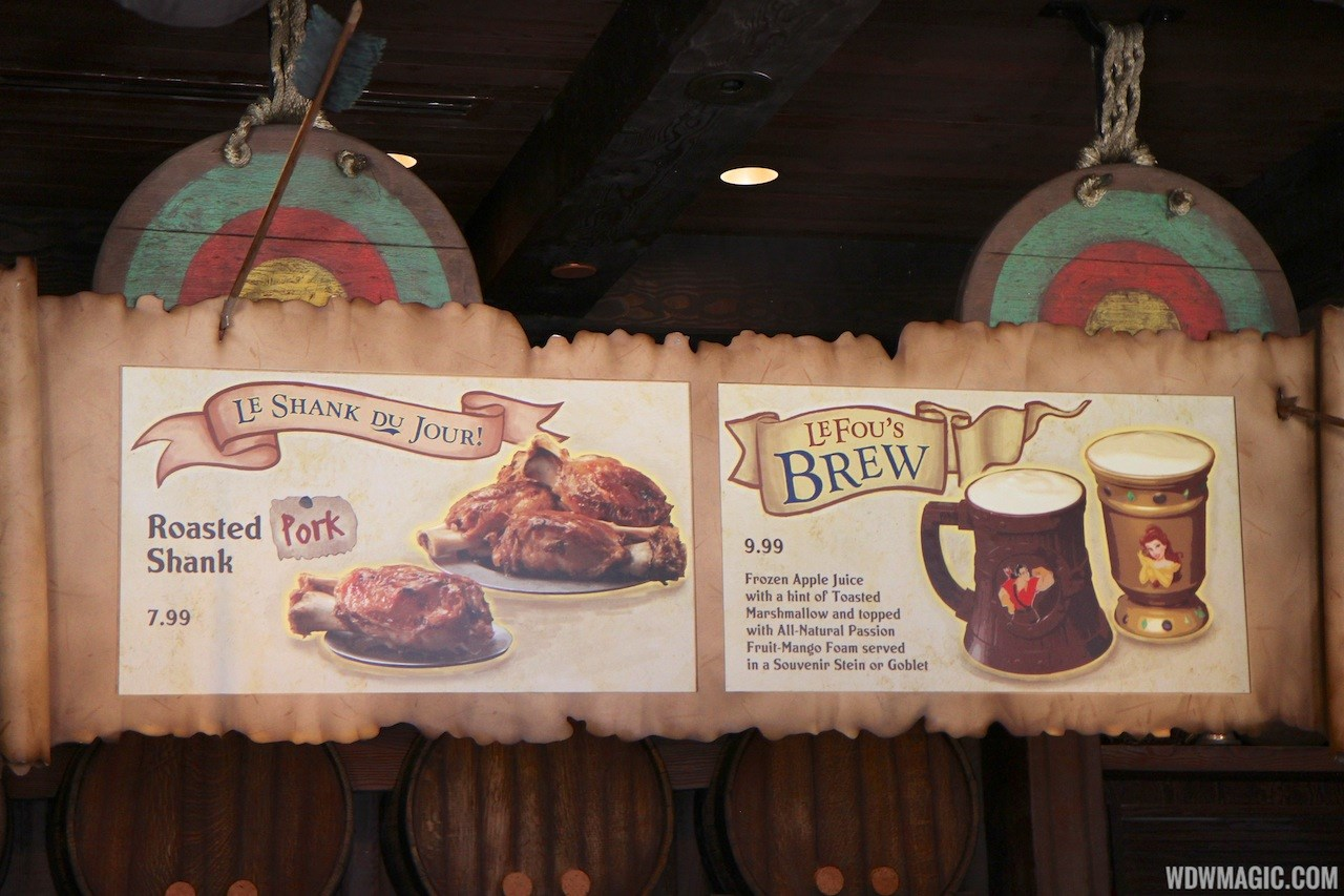 Gaston's Tavern soft opening