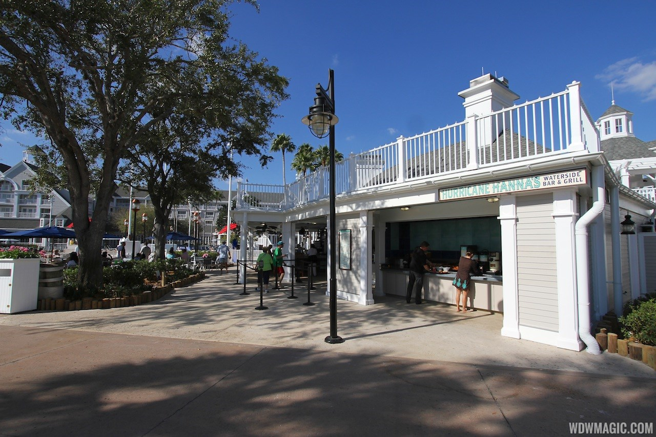 Newly refurbished Hurricane Hanna's Waterside Bar and Grill