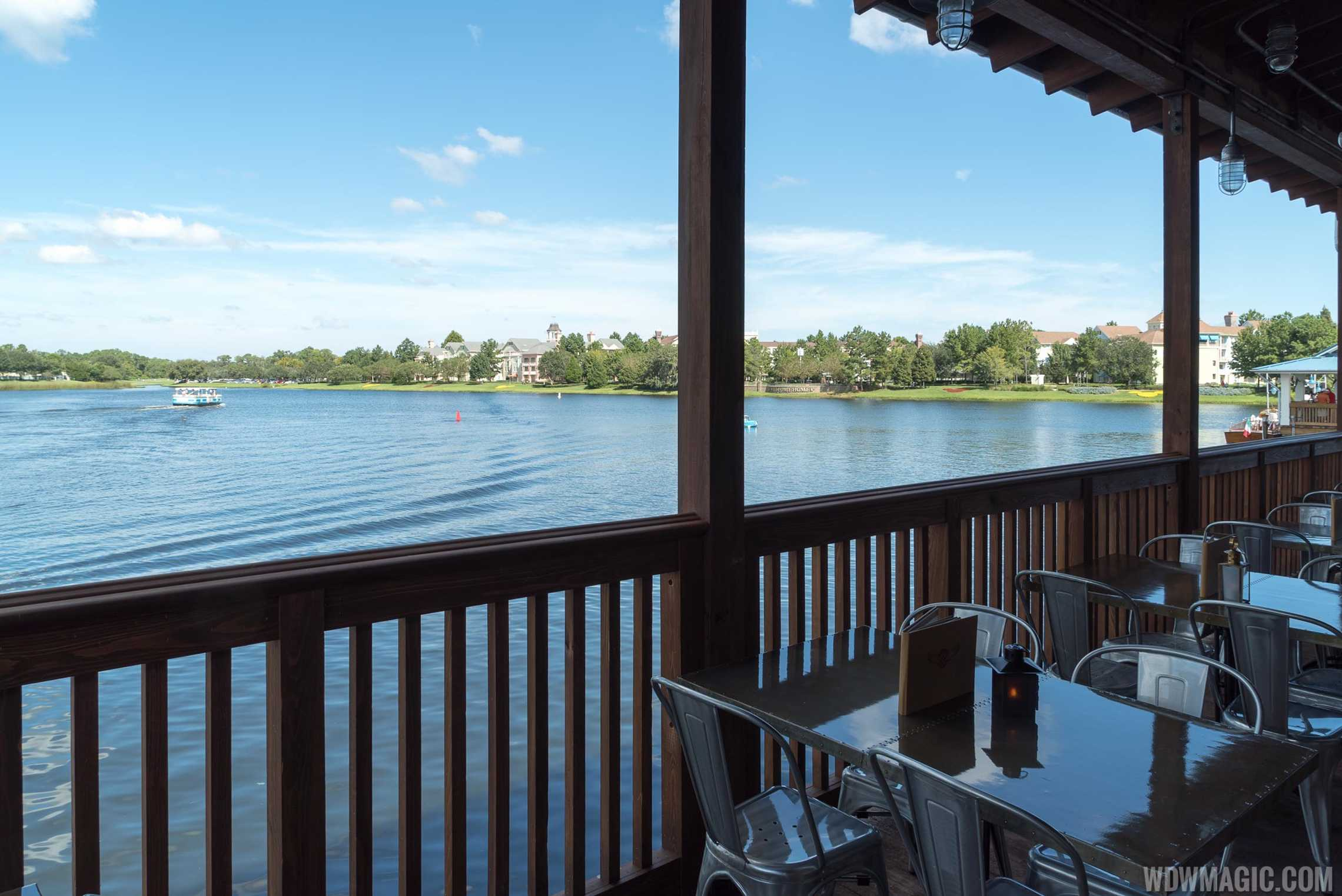 Jock Lindsey's Hangar Bar - View onto the water