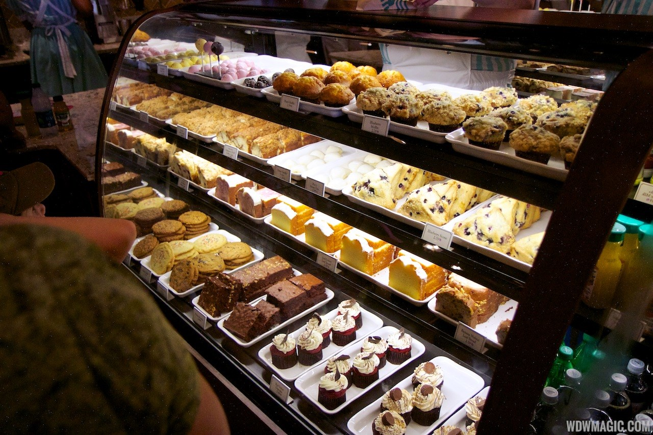 Inside the Starbucks Main Street Bakery