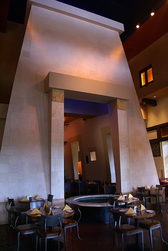 Maya Grill interior