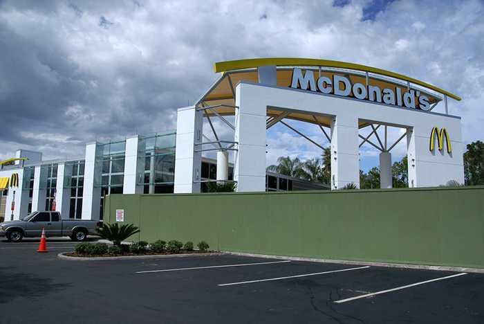 McDonald's at the All Star Resorts area refurbishment