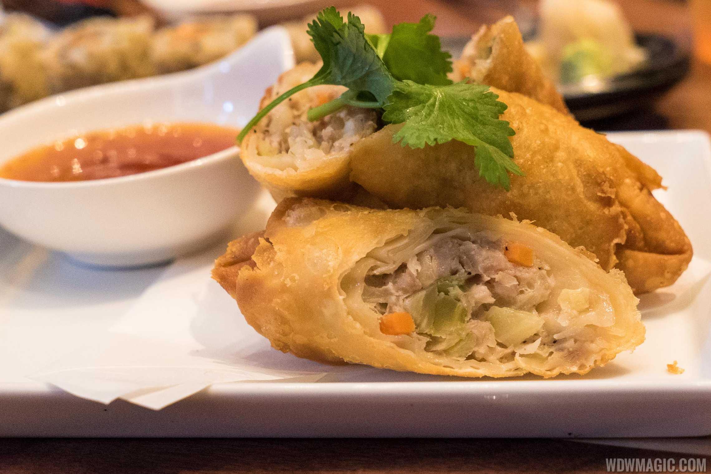 Morimoto Asia - pork egg roll