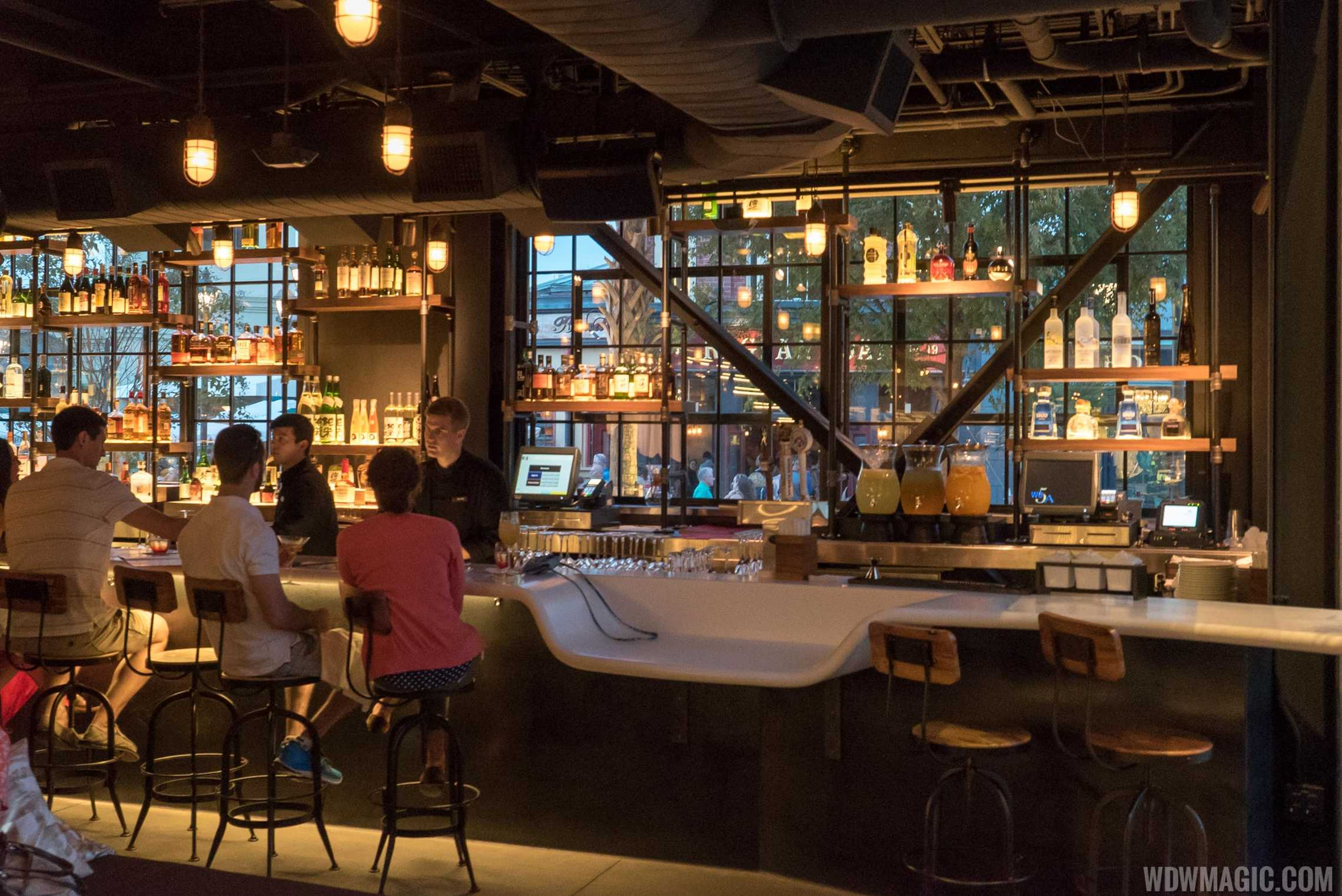 Morimoto Asia - Lower level bar