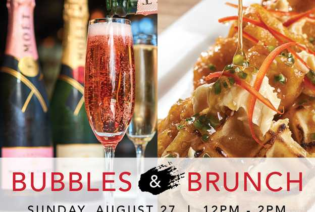 Bubbles and Brunch dining event