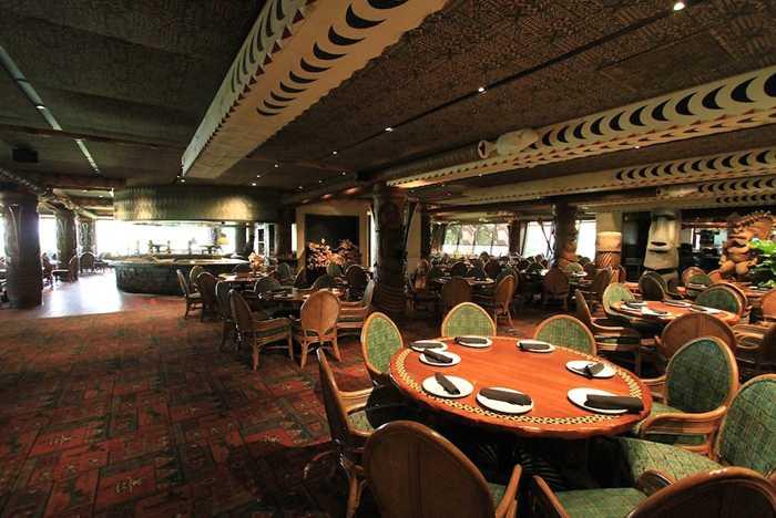 'Ohana dining room