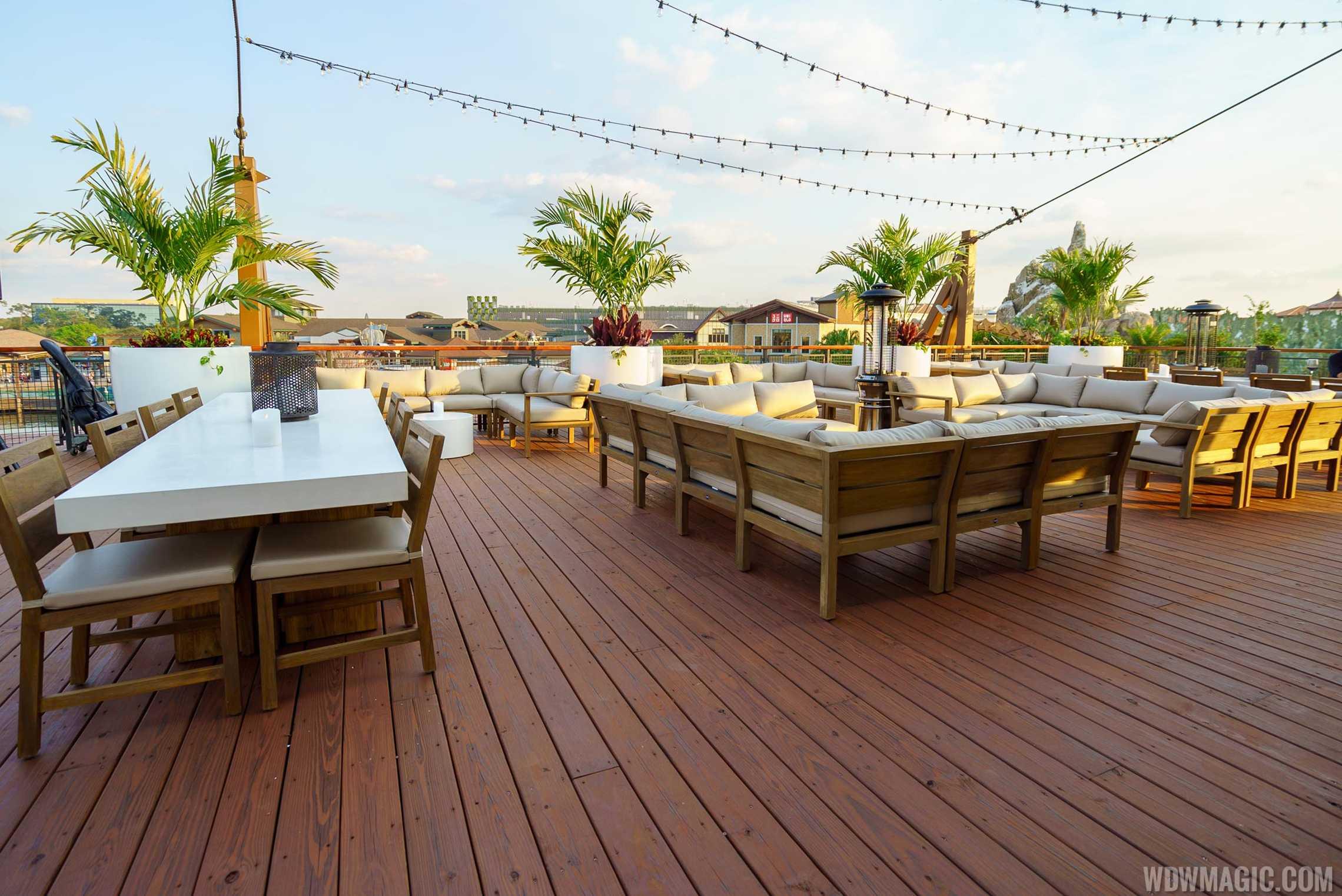 Paddlefish - Top deck lounge