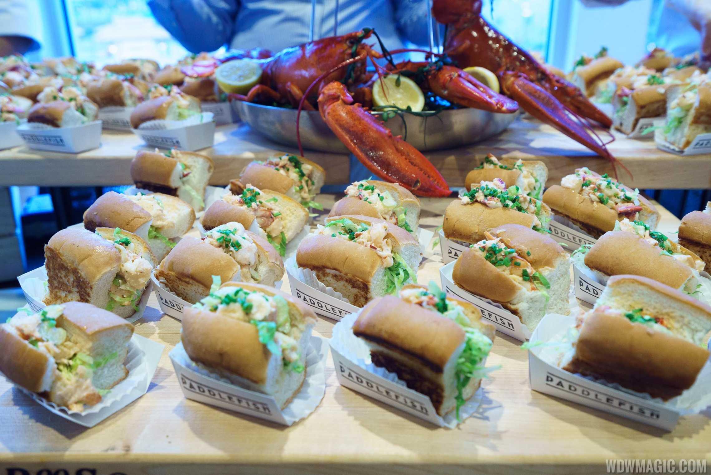 Paddlefish - Lobster roll sampler