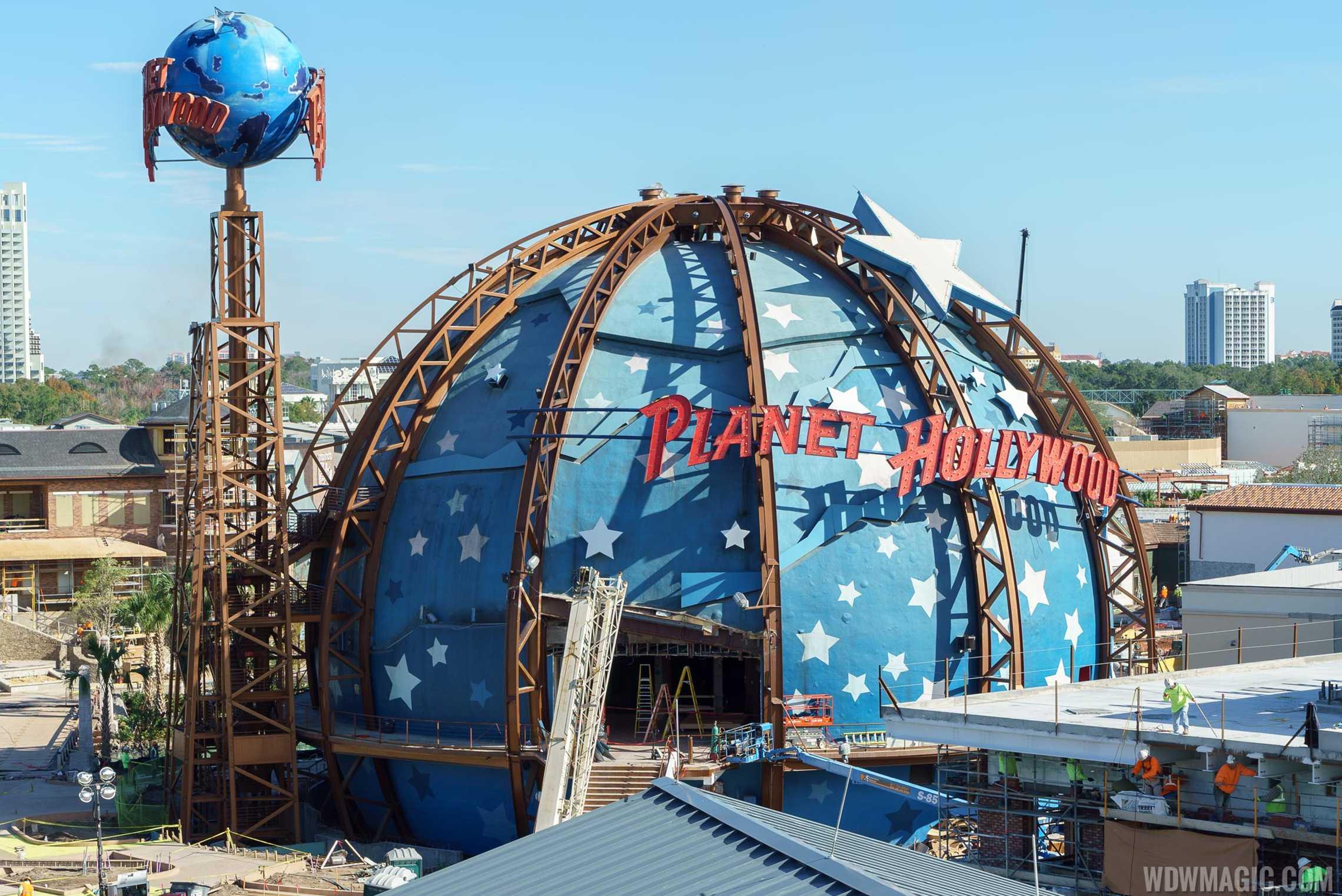 Planet Hollywood In Myrtle Beach Menu