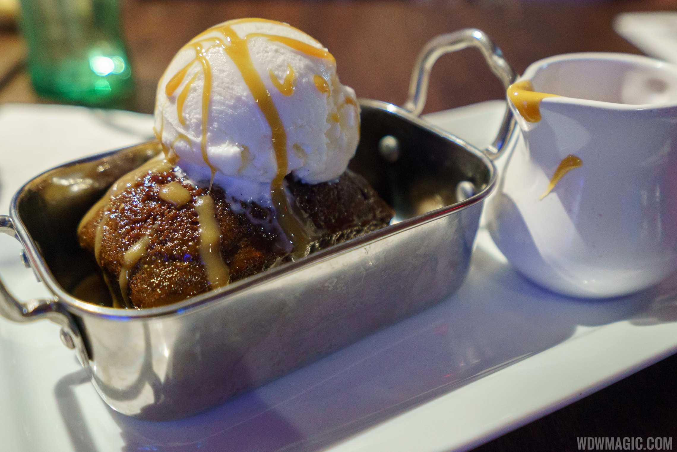Planet Hollywood Observatory - Sticky Toffee Pudding