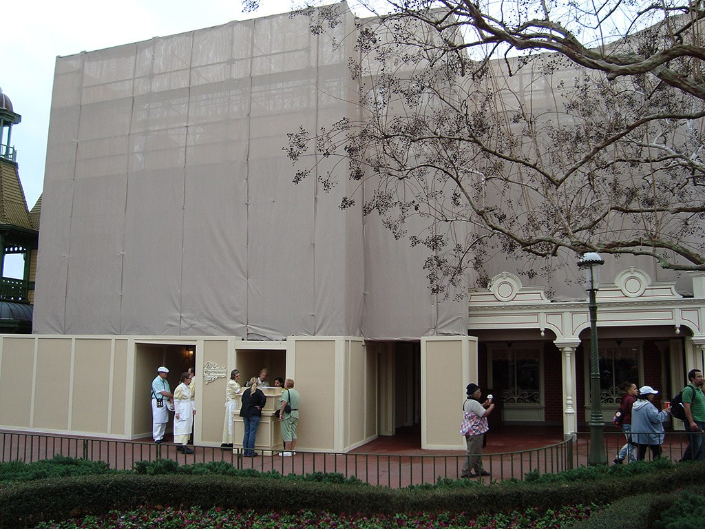 Exterior refurbishment