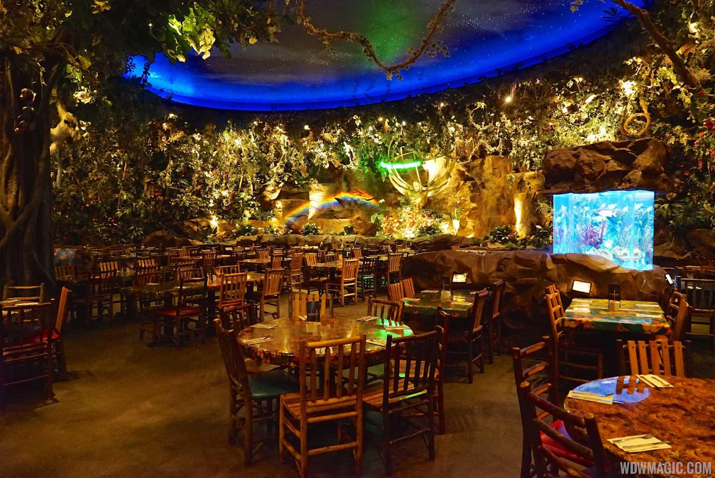 Animal Kingdom Rainforest Cafe Dining Plan