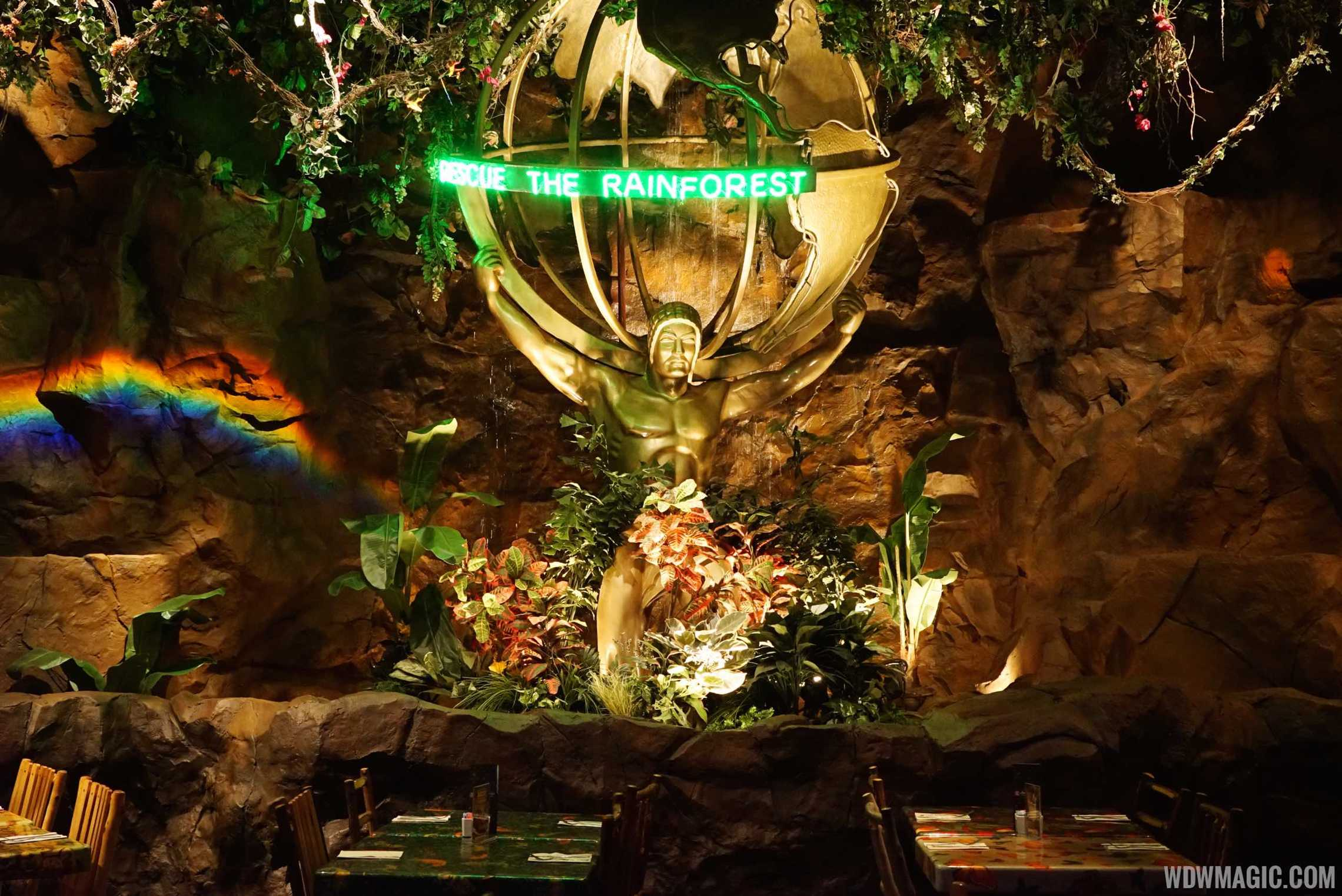 Rainforest Cafe Menu Menlo Park