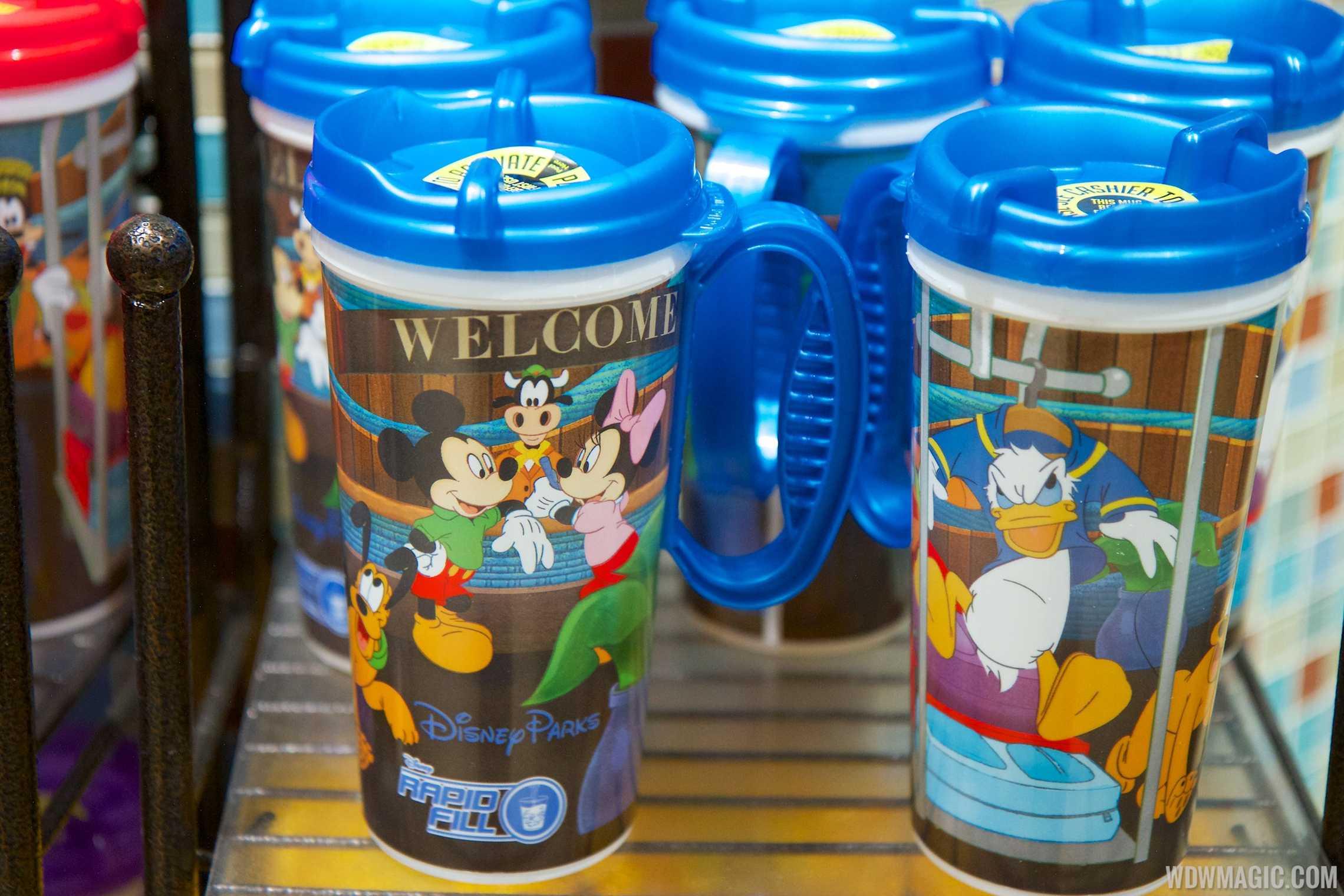 Rapid Fill refillable mugs