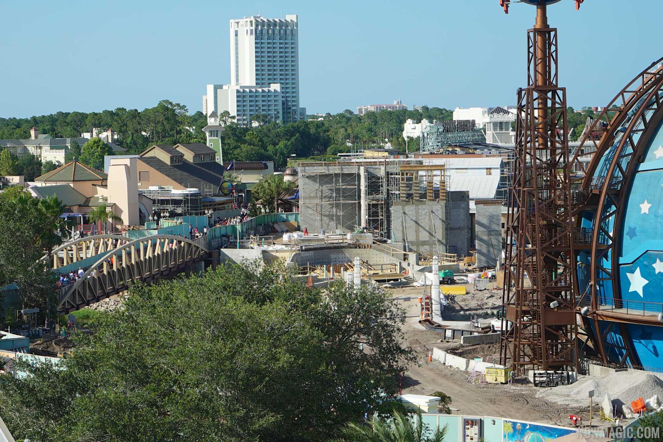 STK Orlando under construction