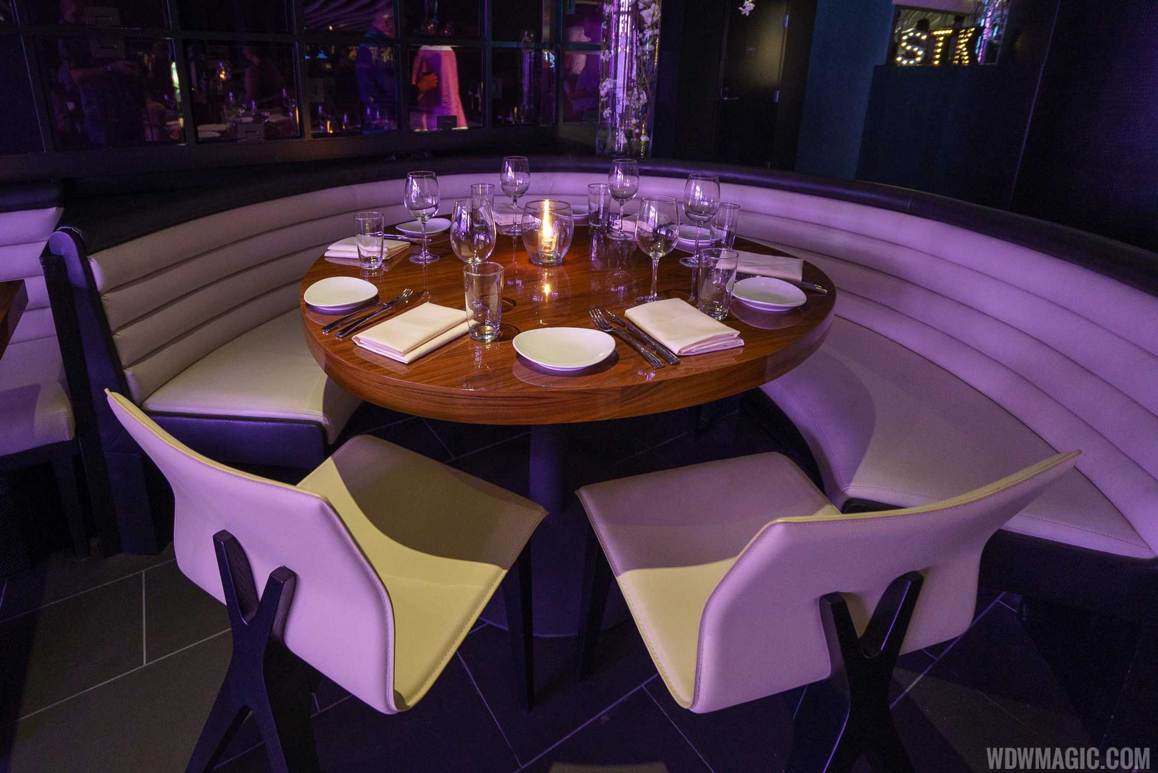 STK Orlando - Lower level table