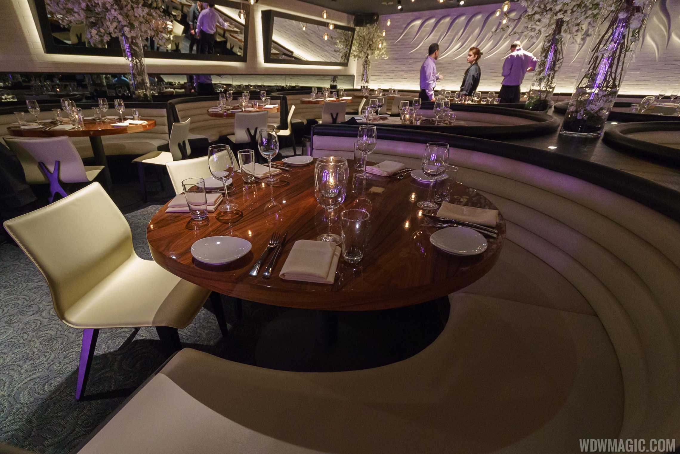 STK Orlando - Main dining room on lower level