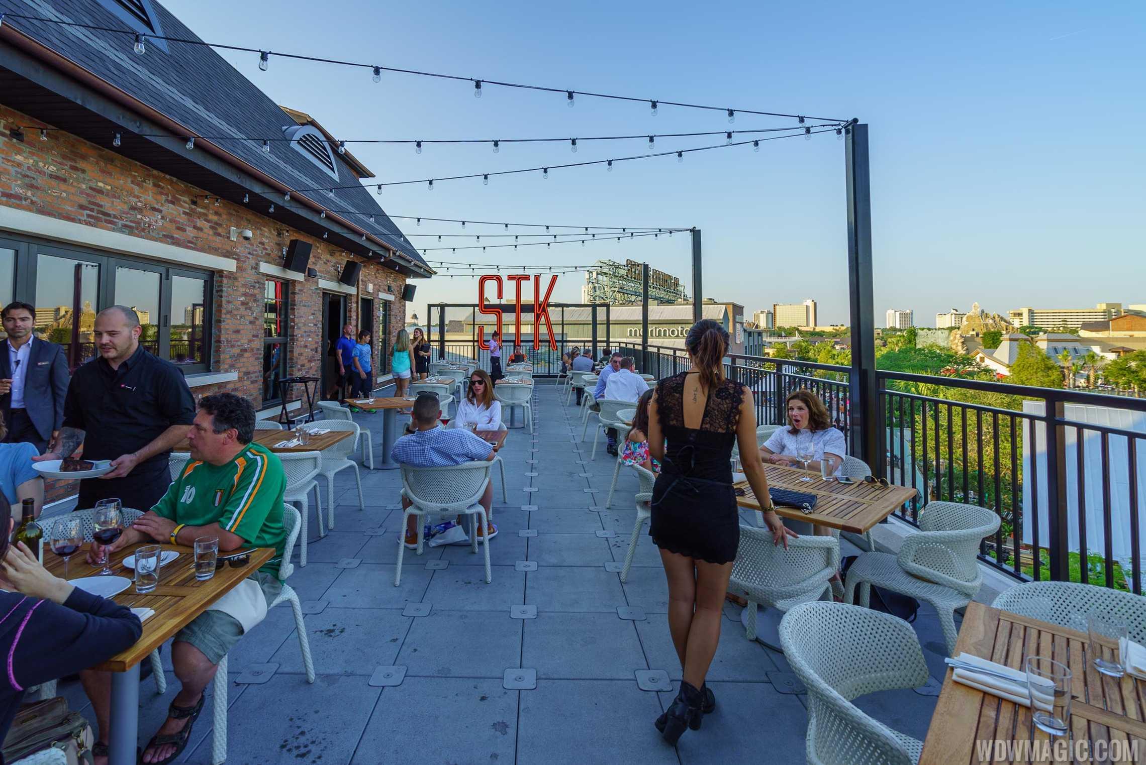 STK Orlando - Outdoor patio