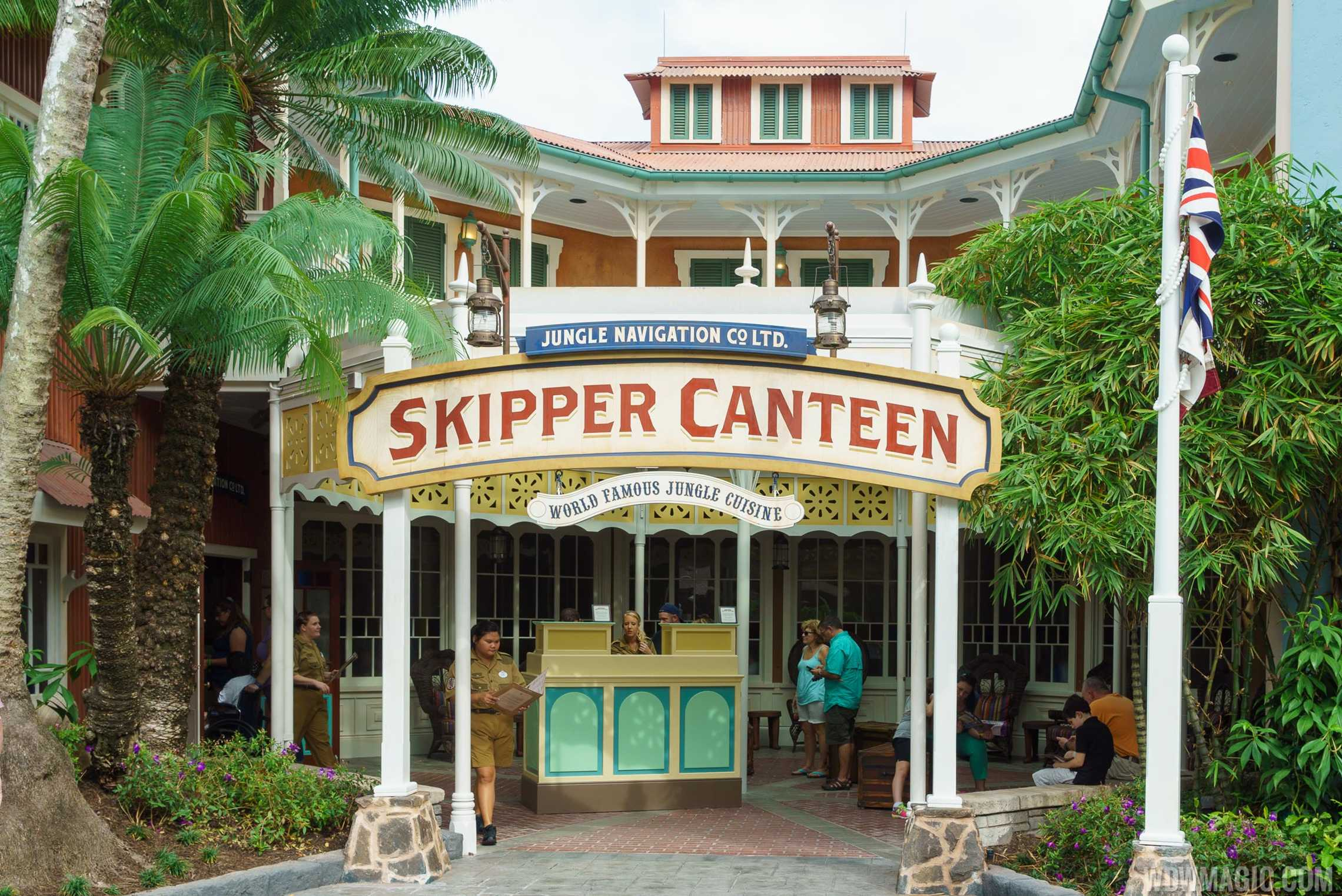 Jungle Cruise Skipper Canteen - Entrance