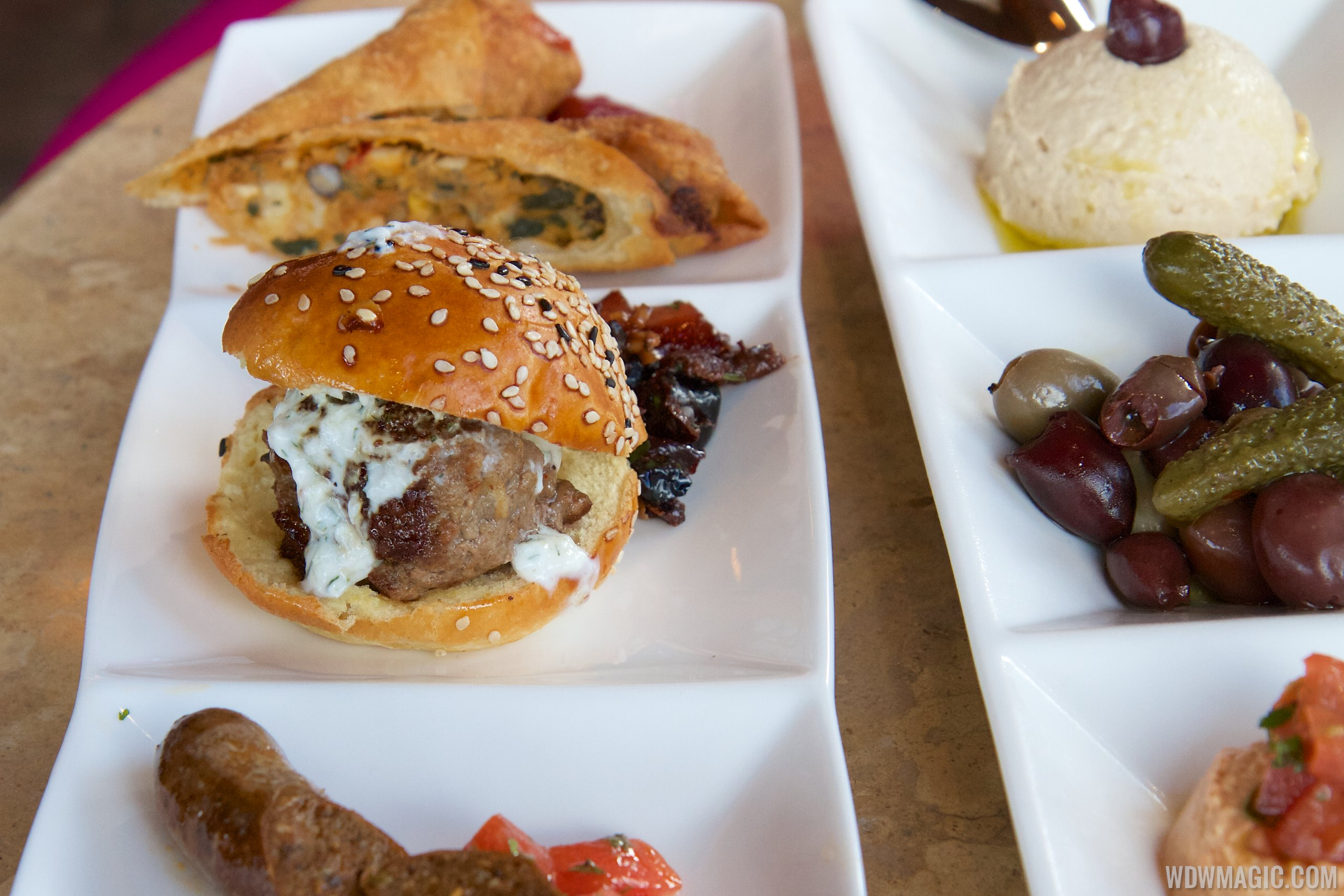 Spice Road Table   Lamb Slider From The Tingis Sampler $16