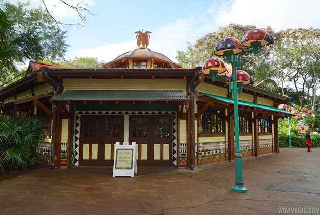 Starbucks Disney's Animal Kingdom construction