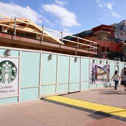 Starbucks Marketplace construction