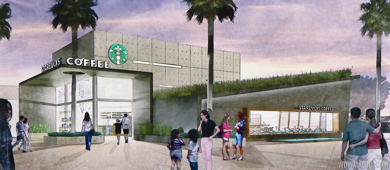 Starbucks West Side concept art