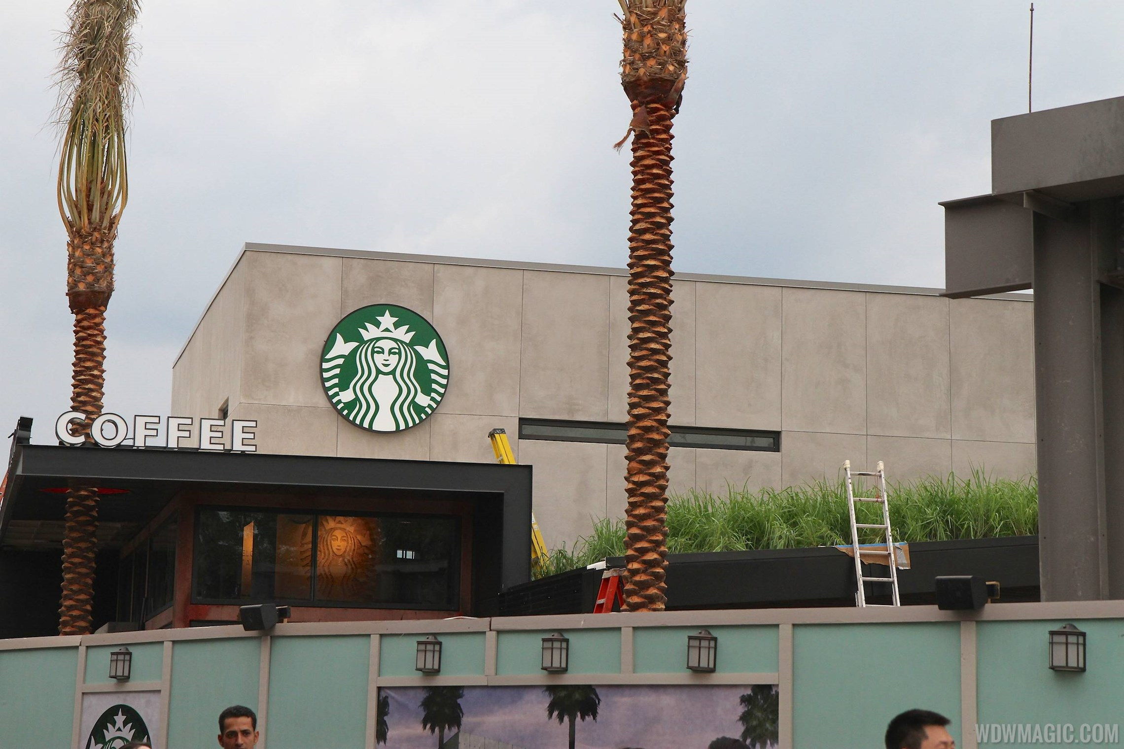 Starbucks West Side construction