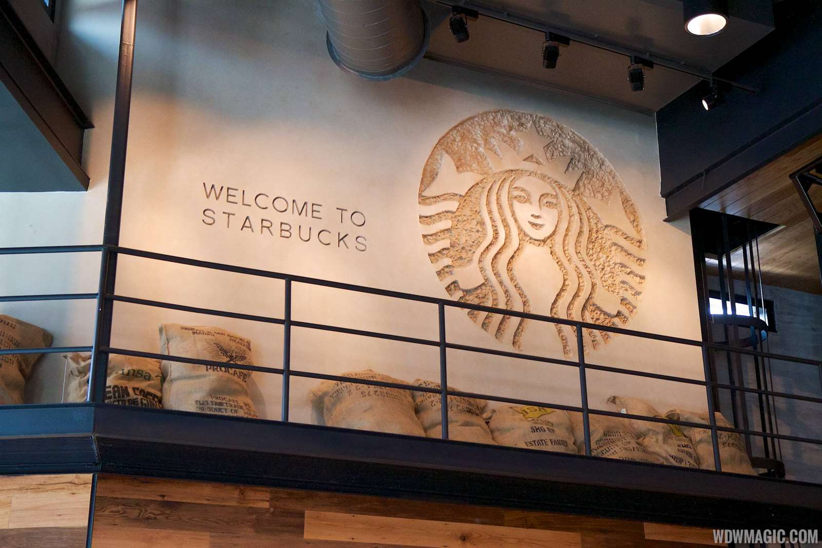 photos starbucks downtown disney west side now open