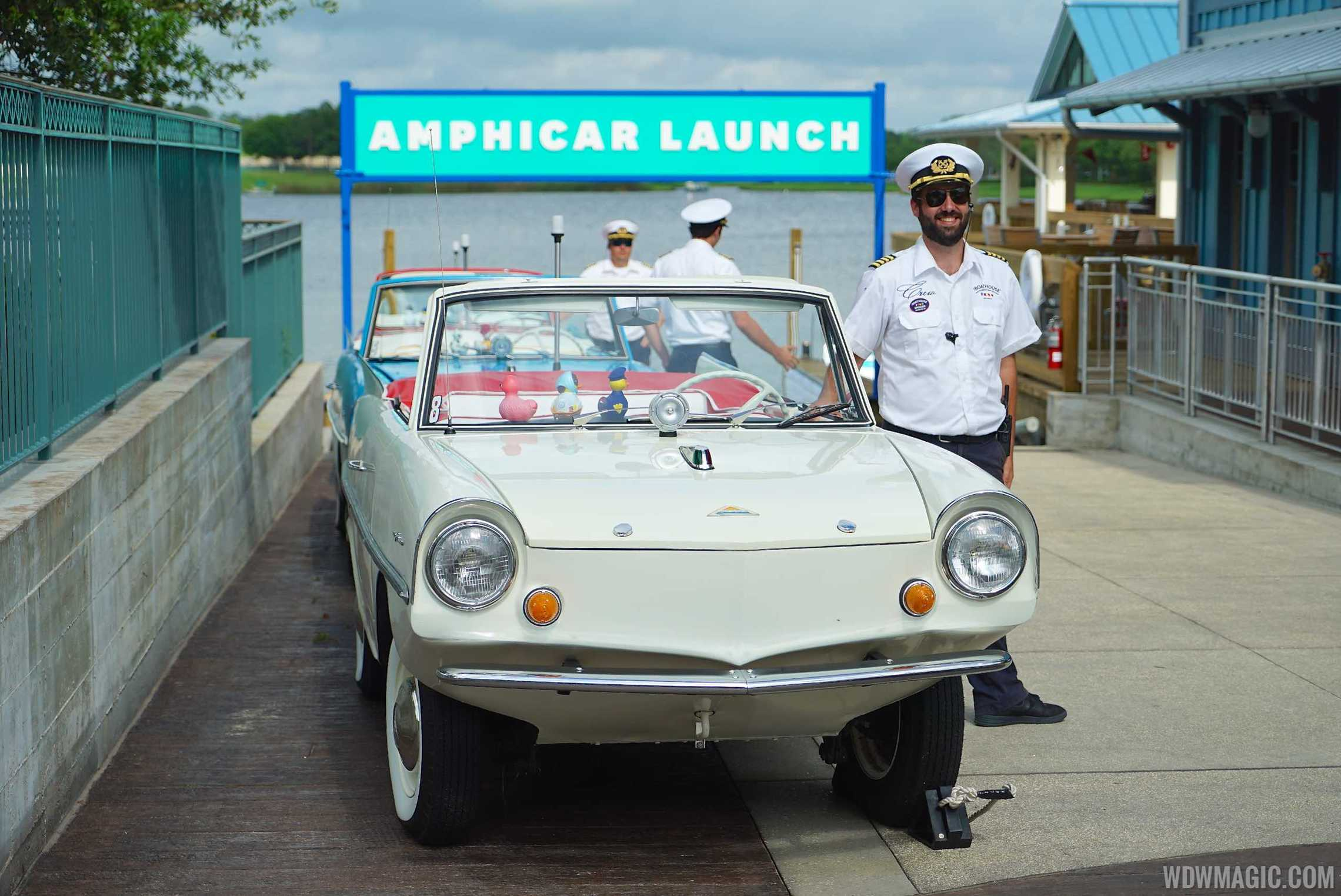 The BOATHOUSE - Amphicar launch area