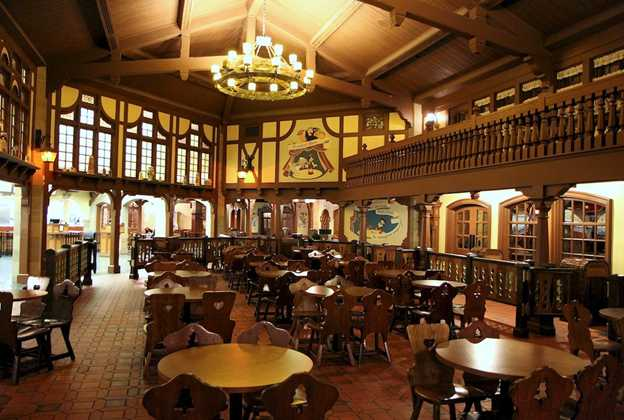 Pinocchio Village Haus inside dining room