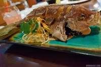 Whole-fried Sustainable Fish