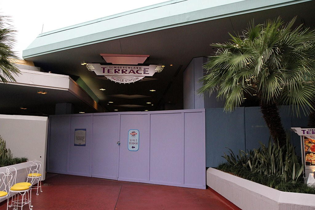 Tomorrowland Noodle Station refurbishment