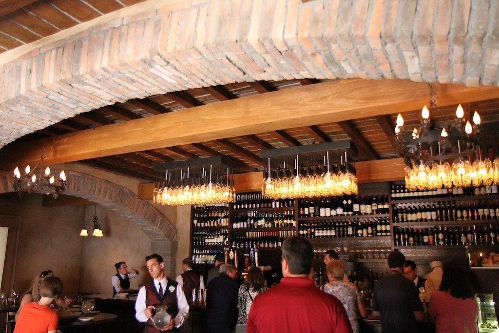 Tutto Gusto Wine Cellar interior