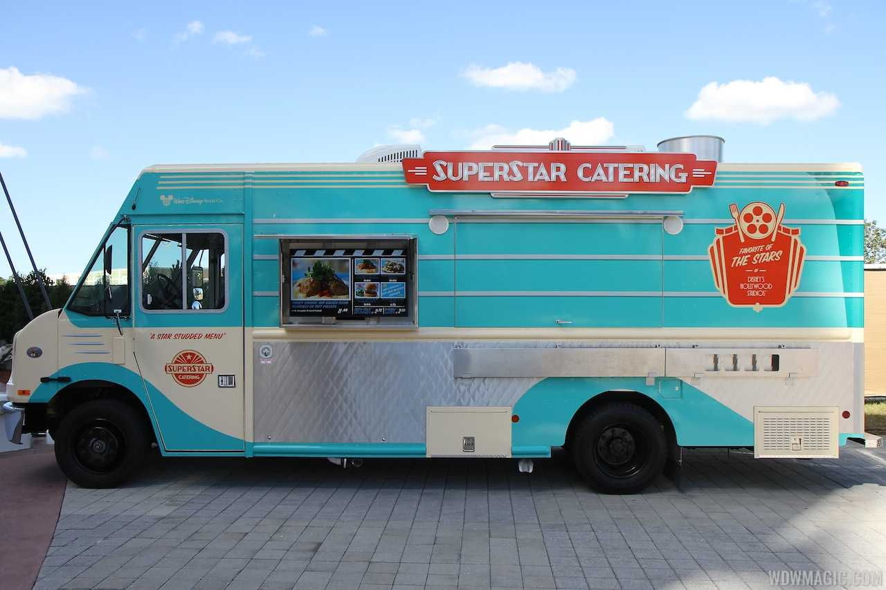Superstar Catering food truck at Downtown Disney