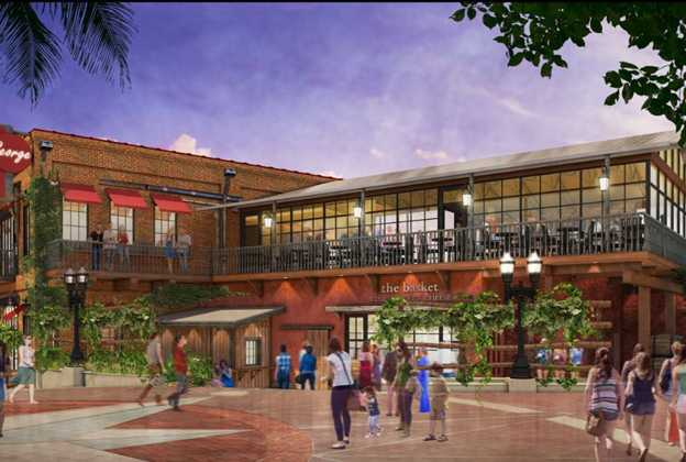 Wine Bar George concept rendering