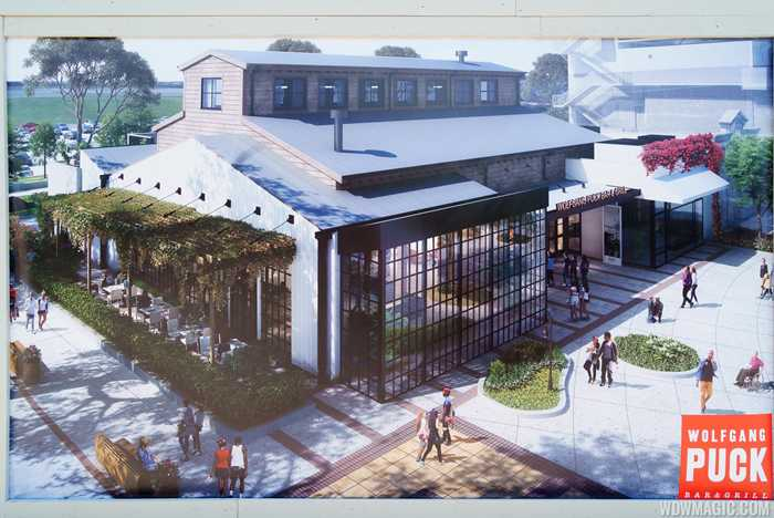 Wolfgang Puck Bar and Grill concept art
