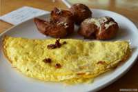 Bacon & Cheddar Omelet