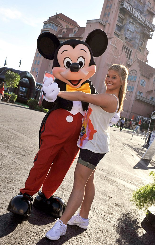 Gymnast Shawn Johnson at Disney's Hollywood Studios ESPN The Weekend