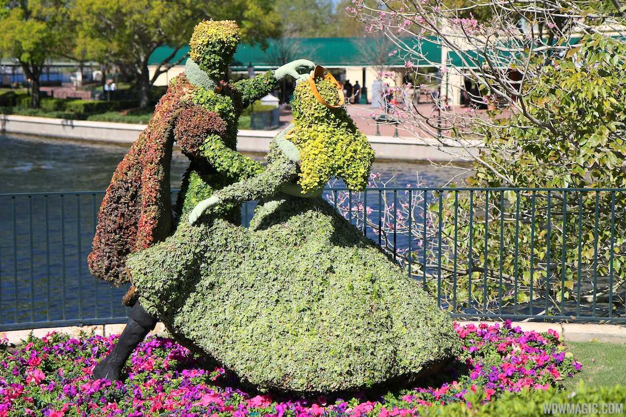 2013 Epcot International Flower And Garden Festival Opening Day Tour Photo 85 Of 127