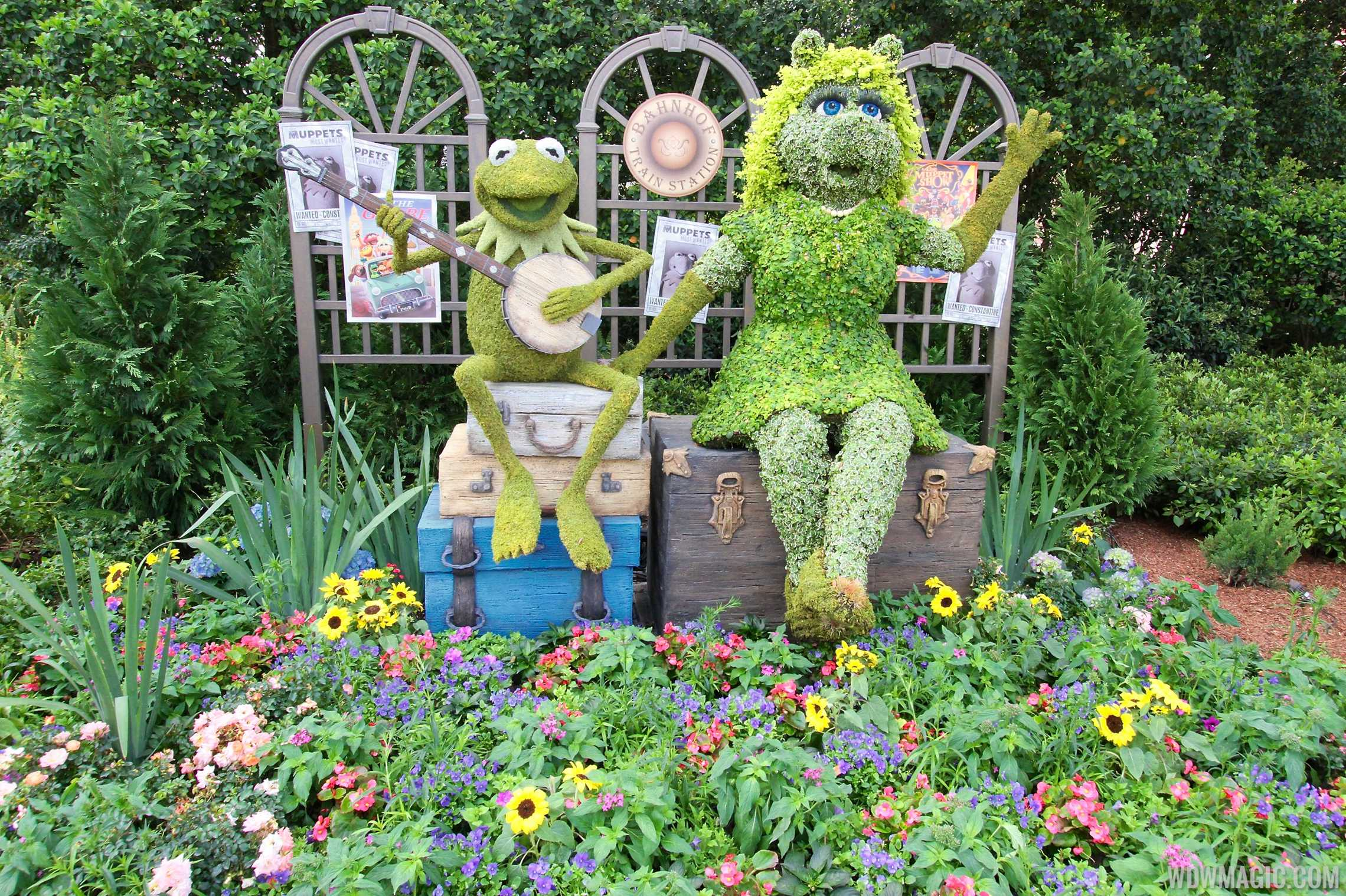 Muppet Topiary at the Flower and Garden Festival