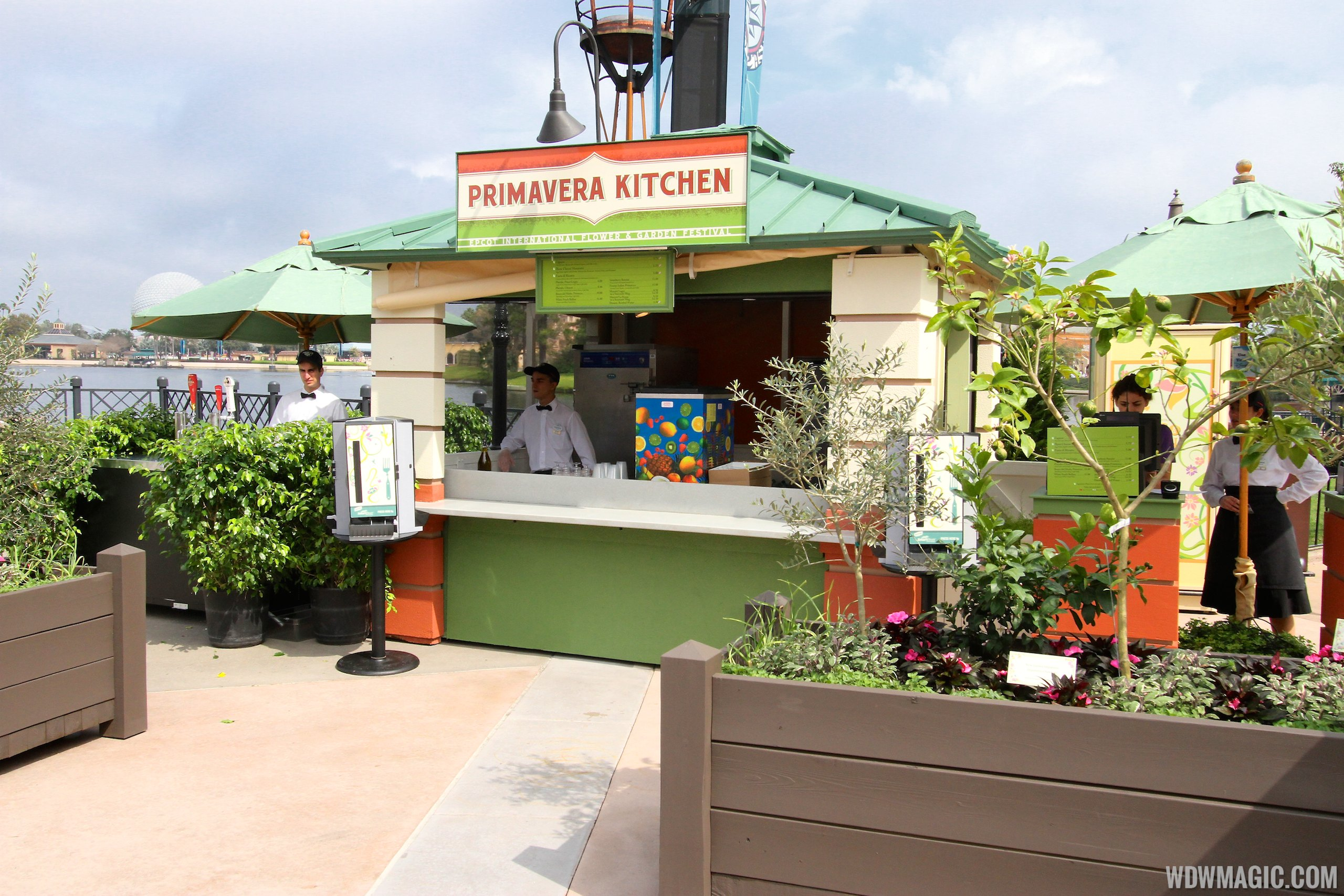 Kitchen Garden International 2014 Epcot Flower And Garden Festival Outdoor Kitchen Kiosks And