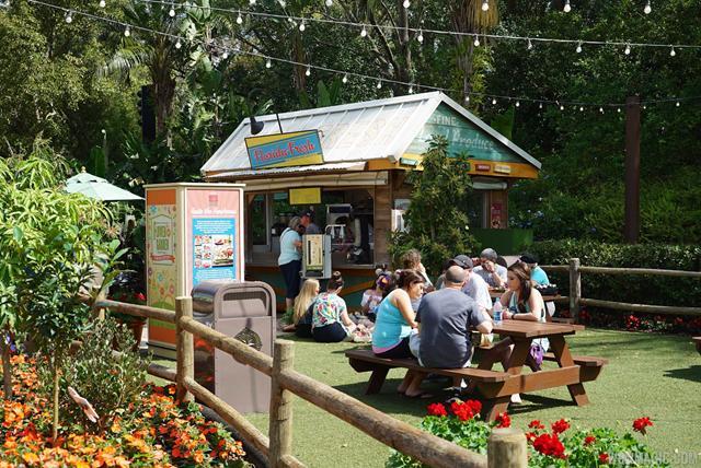 2015 Epcot Flower And Garden Festival Outdoor Kitchen Kiosks And Menus