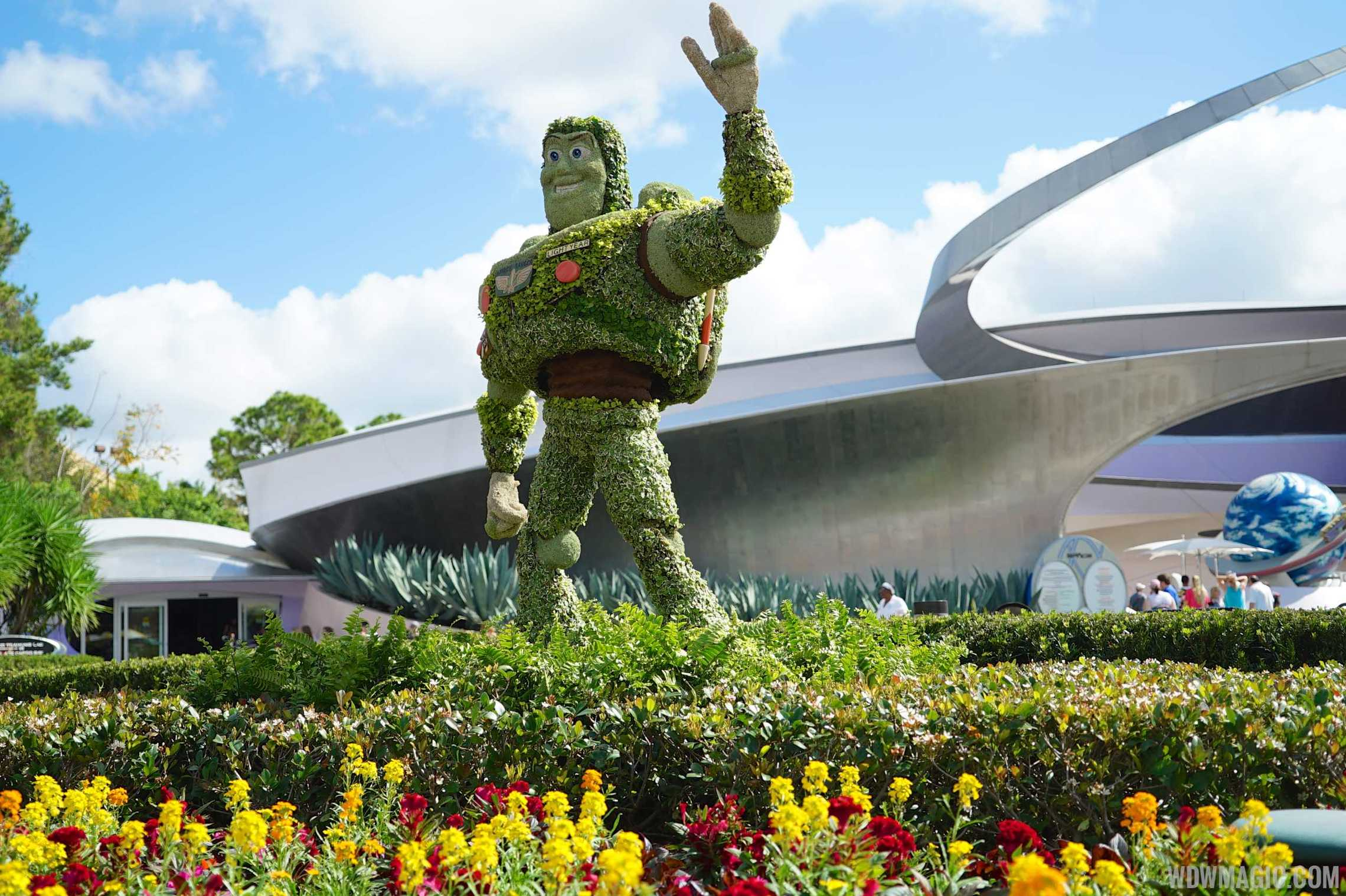 2015 Epcot International Flower And Garden Festival Opening Day Tour Photo 20 Of 74