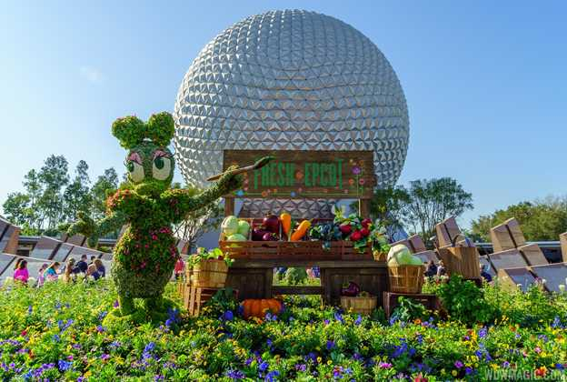 2016 Epcot International Flower and Garden Festival topiary tour